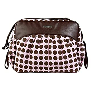 Kalencom Jazz Collection, Heavenly Dots Pink/Chocolate