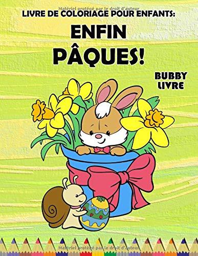 Livre De Coloriage Pour Enfants Enfin Paques Un Joli