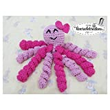 Crochet PREEMIE PINK Octopus Toy