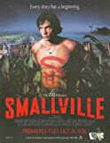 Smallville: Series Premiere: Clark Kent 2-Page Version: Sexy Shirtless Tom Welling Great Original Photo Print Ad!