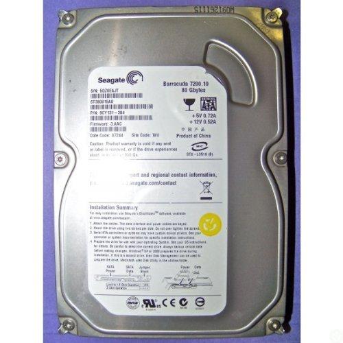 ST3750640A SEAGATE 750GB 7200RPM DESKTOP IDE HARD DRIVE