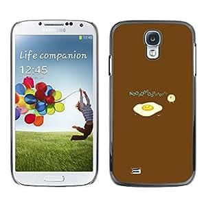 TECHCASE**Cubierta de la caja de protección la piel dura para el ** Samsung Galaxy S4 I9500 ** Egg Food Baby Chicken Art Drawing Symbolic