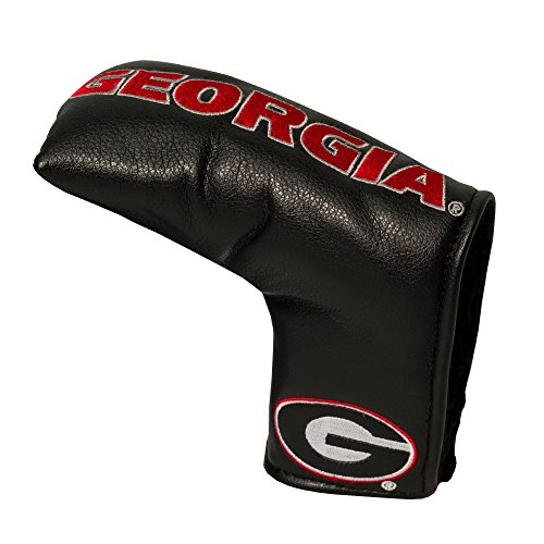 Bulldogs Putter Cover - Team Golf NCAA Georgia Bulldogs Golf Club Vintage Blade Putter Headcover, Form Fitting Design, Fits Scotty Cameron, Taylormade, Odyssey, Titleist, Ping, Callaway