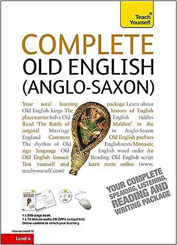 Amazon Com Complete Old English Beginner To Intermediate