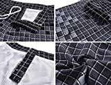 Nonwe Men's Swimwear Grid Printed Quick Dry Board