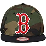 Boston Red Sox Logo Grand Redux Woodland Camo New Era 9fifty Snapback Hat