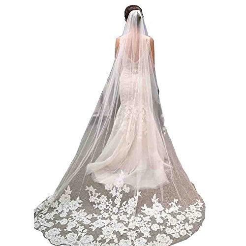 Kivary Chapel Appliques Wedding Bridal product image