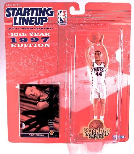 Keith Van Horn 1997 Extended Series NBA Starting Lineup Action -