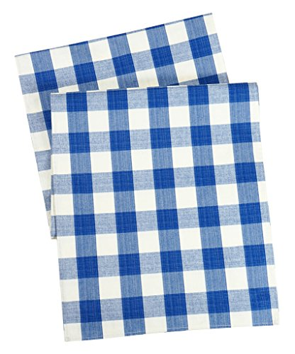 Gingham Tablecloth Picnic Table Runners Checkered Table R...