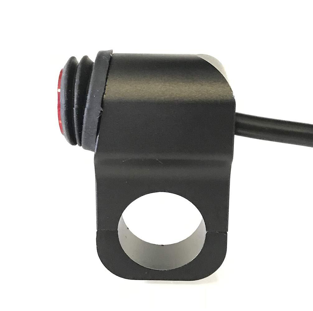 22mm Mosley Technology Inc Fits 7//8 Motorcycle Waterproof Switch CNC Aluminium Alloy Rocker Switches LED Headlight Spotlight On Off Toggle Switch