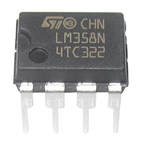 Amplificador operacional doble - SODIAL(R)20 Piezas LM358 LM358N LM358P Amplificador operacional doble