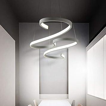 Elegant LED Pendentif Lumière Hauteur Réglable Cuisine Plafonnier Salon Plafonnier Chambre  Design Moderne Lumière Bureau D