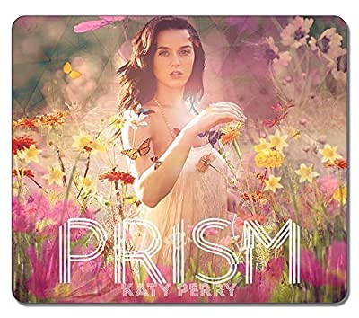 Customized Rectangle Non-Slip Rubber Large Mousepad Katy Perry New Prism Water Resistent Gaming Mouse Pad Large Mousepad Gaming Pad Large Mouse Pads