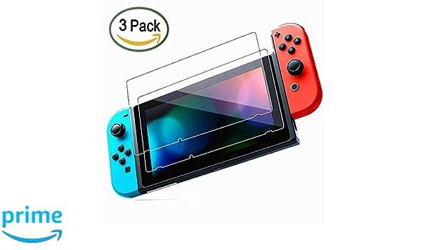Protector de pantalla de vidrio templado para Nintendo ...