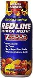VPX REDLINE Power Rush 7hr Energy Shot Beverage, Peach Mango, 2.5-Ounce Bottles (Pack of 24) For Sale