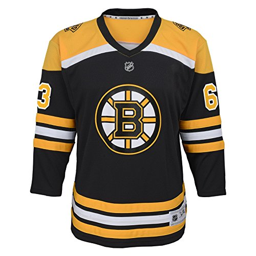 Outerstuff NHL NHL Boston Bruins Kids & Youth Boys Brad Marchand Replica Jersey-Home, Black, Youth Large/X-Large(14-18) (Jersey Marchand)