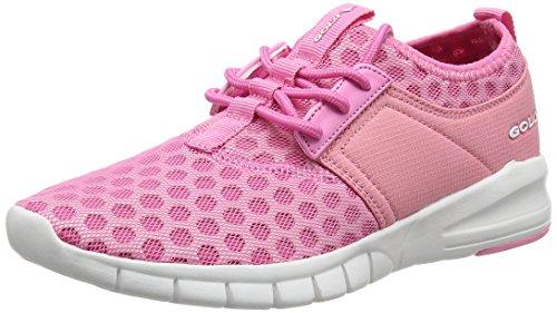 Gola Deportivas White para Pink Rosa Interior Salinas para Zapatillas Mujer 44xnaHSq6w