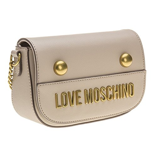 Love Moschino Chain Cross Body Donna Handbag Natural Natural