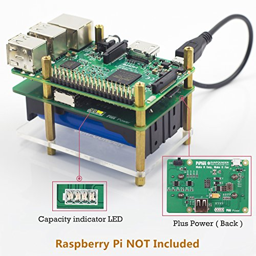 Battery Power For Raspberry Pi - 3