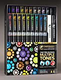 Chameleon Marker 22 Deluxe Set w/ Zen Doodles Color Cards