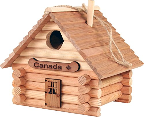 Canadian Made Birdhouse Log Kit - 41 pieces