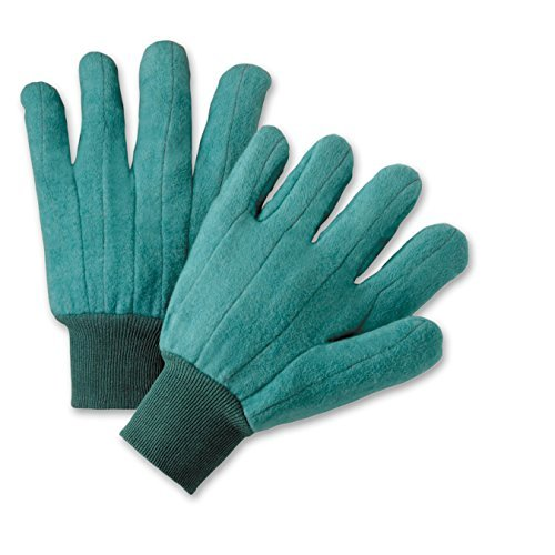 West Chester FM18KWG Full Chore Glove, Large, Green (Pack of 12)