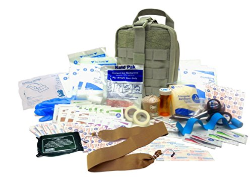 Military IFAK Level 2 EMT First Aid Kit Rip-Away Army Medic Bag OD Green #FA22 by Surplus Provisions