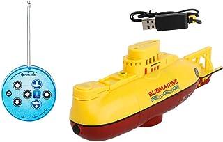 Mini sottomarino RC Speedboat Modello High Powered RC sottomarino per bambini (colore: giallo)