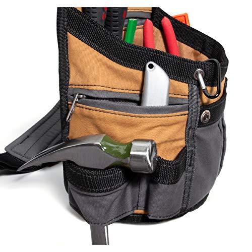 Dickies Work Gear 57000 Grey/Tan 8-Pocket Utility Pouch by Dickies Work Gear (Image #2)