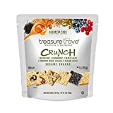TREASURE TROVE SIMPLICITY IS THE NATURE Treasure Trove Healthy Vegan Sesame Snack Bars, with Seeds, Nuts & Berries, Grab & Go Assorted Pack, 8 oz – 8 Individual Servings, Made in USA