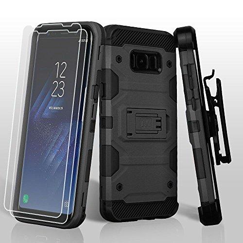 MyBat Cell Phone Case for Samsung Galaxy S8 - Black from MYBAT