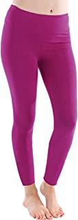 product image for LVR Basic Legging-Pink-L Womens Active Organic Yoga Leggings Pink