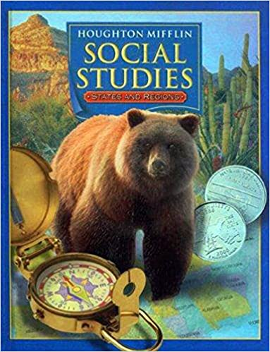 Houghton Mifflin Social Studies Level 4 States And Regions