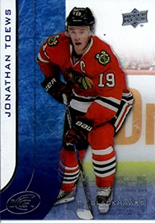 Amazon.com  2015-16 Upper Deck ICE  16 Jonathan Toews Chicago Blackhawks  Hockey Card in Protective Screwdown Display Case  Collectibles   Fine Art 2321a29ad