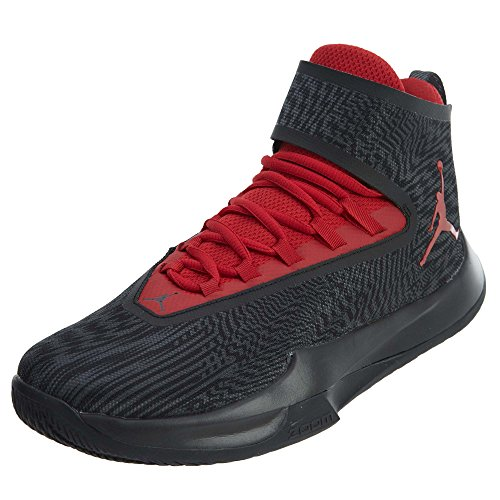 NIKE Men s Jordan Fly Unlimited Basketball Shoe Anthracite Gym Red-Black 10 29c286e91