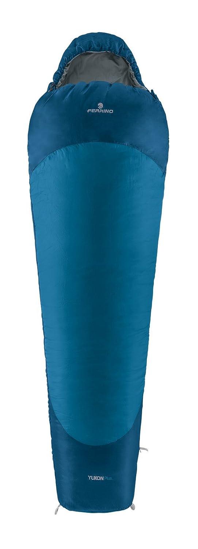 Ferrino SLEEPINGBAG Yukon Plus SX Saco de Dormir Tiempo Libre y Senderismo Unisex Adulto, (Blue-Grey), Talla Única: Amazon.es: Deportes y aire libre