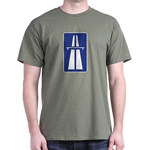 CafePress Autobahn 100% Cotton T-Shirt, many colors, S to 3XL