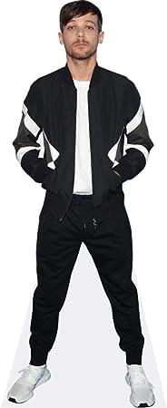 Amazon Com Louis Tomlinson Black Outfit Life Size Cutout Home Kitchen