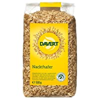 Davert Nackthafer, 4er Pack (4 x 500 g) - Bio