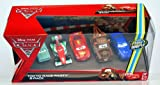 Disney / Pixar CARS 2 Movie Exclusive Die Cast Car 5Pack Tokyo Race Party A Trunkov, Francesco Bernoulli, Lightning McQueen, Wasabi Mater Rod Torque Redline