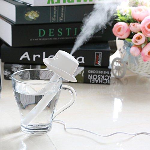 Ashbringerスチーム式加湿器-COW07ミニ加湿器USB加湿器卓上加湿器アロマおしゃれ携帯式車用寝室事務室や家や車の中で適用します
