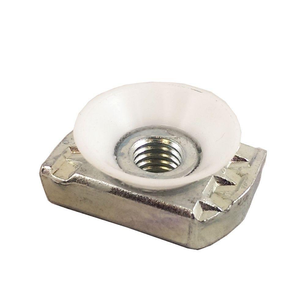 VPC 3/8 in. Galvanized Cone Nut (5-Pack)