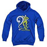 Dc - Youth The Riddler Pullover Hoodie, Medium, Royal Blue