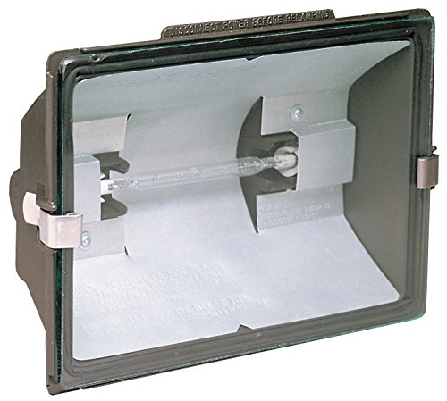 Heathco HZ-5505-BZ 500 Watt Bronze Quartz Halogen Floodlight - Quartz Floodlight