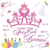 Roommates Rmk1580Gm Disney Princess Crown Peel & Stick Giant Wall Decal