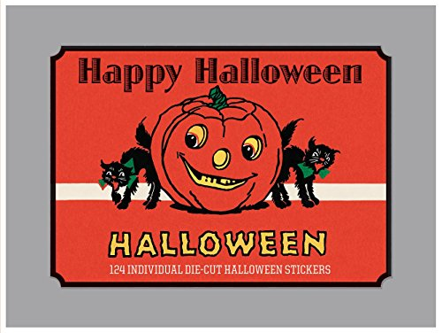 Price comparison product image Happy Halloween - Vintage Halloween Boxed Sticker Set (Book-Books)