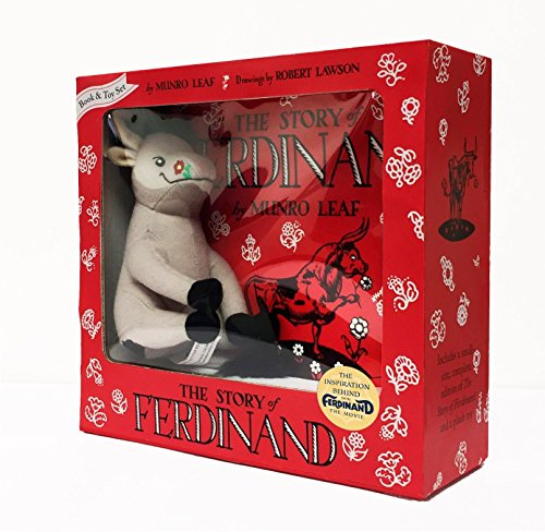 Ferdinand Book and Toy Set (The Story Of Ferdinand By Munro Leaf)