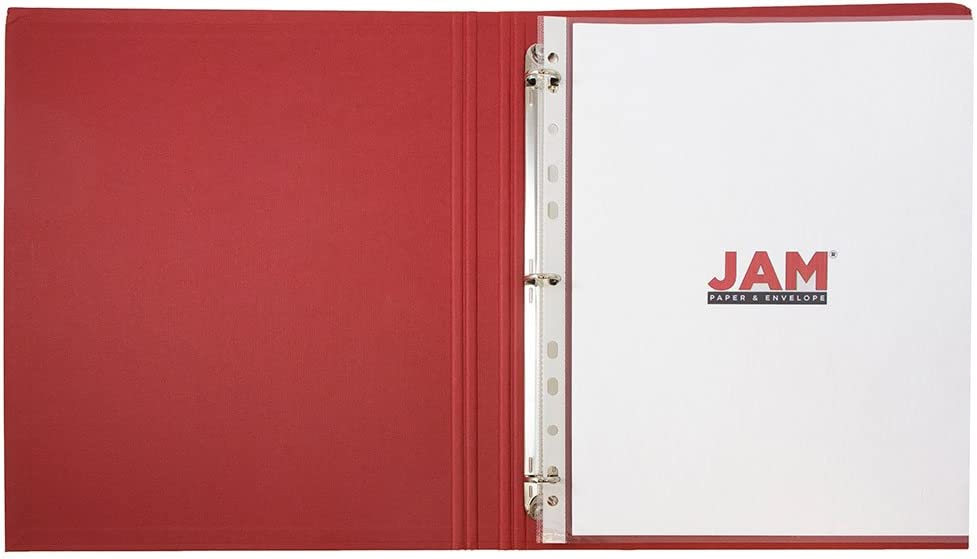 JAM PAPER Sheet Protectors Clear 10 Document Sleeves//Pack Fits Standard 8 1//2 x 11 Paper