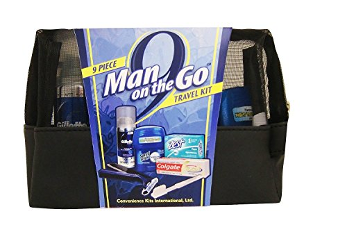 Convenience Kits Man On the Go Travel Bag