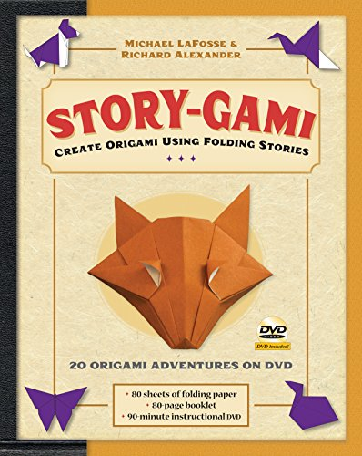 Story-gami Kit: Create Origami Using Folding Stories: Kit with Origami Book, 18 Fun Projects, 80 High-Quality Origami Papers and Instructional - 80 Origami